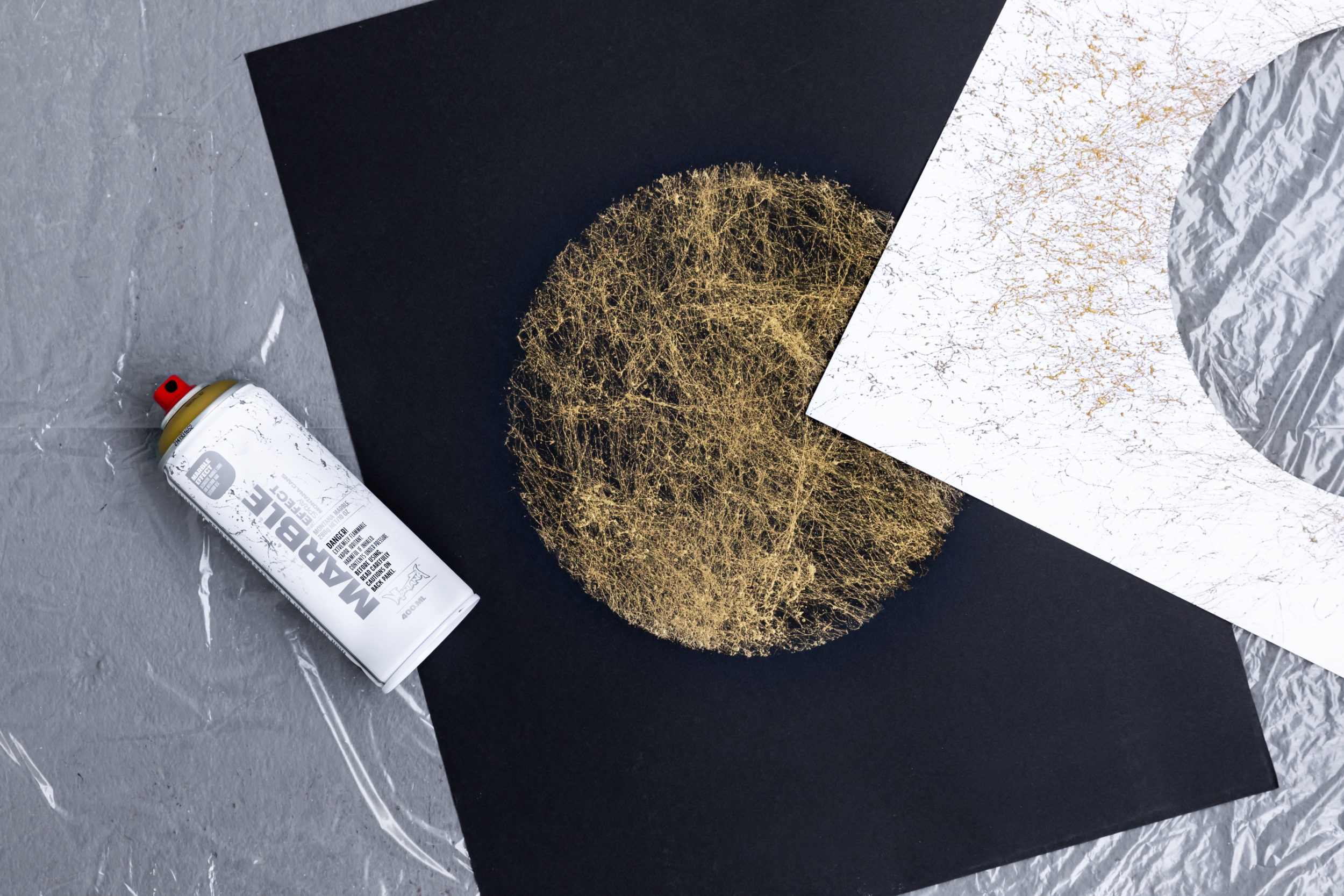 Marble Art Wall The New Montana Marble 400ml Gold