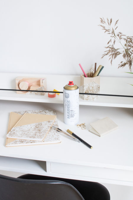 Marble Effect Workspace
